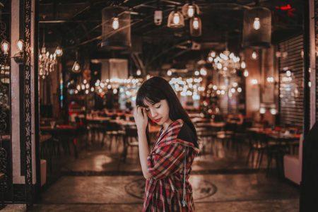 Dame asiatique